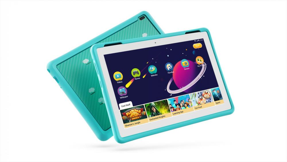05_Tab4_HD_10inch_with_Kids_Bumper_Blue_Hero_Front_facing_right_Wifi_White.jpg