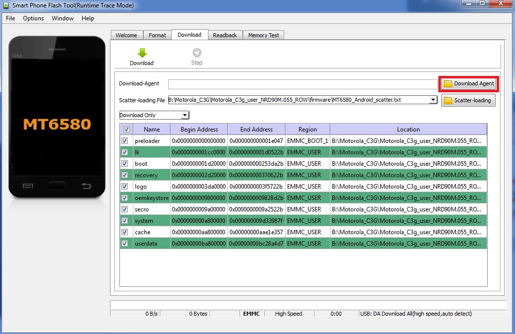 Instruction] method of full flashing Moto With 3G (XT1750