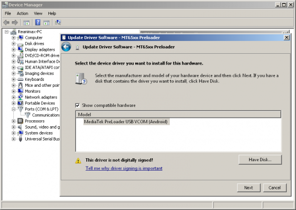 Lenovo Device driver Software