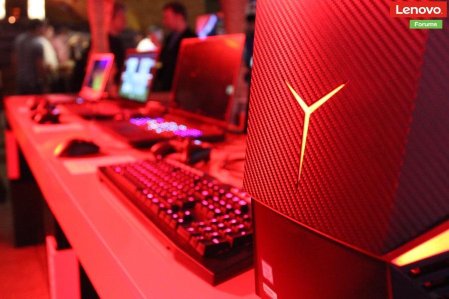 Lenovo официально представила игровые ноутбуки