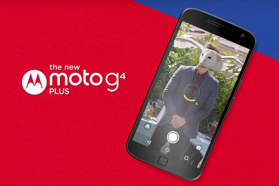 Moto показала рекламу серии G4